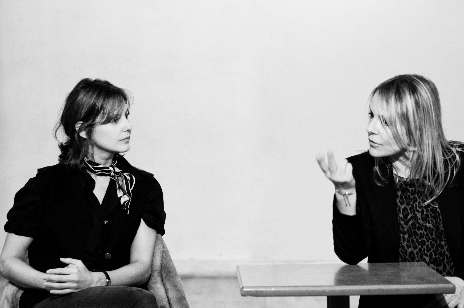 Elodie Navarre et Juliette Moltes