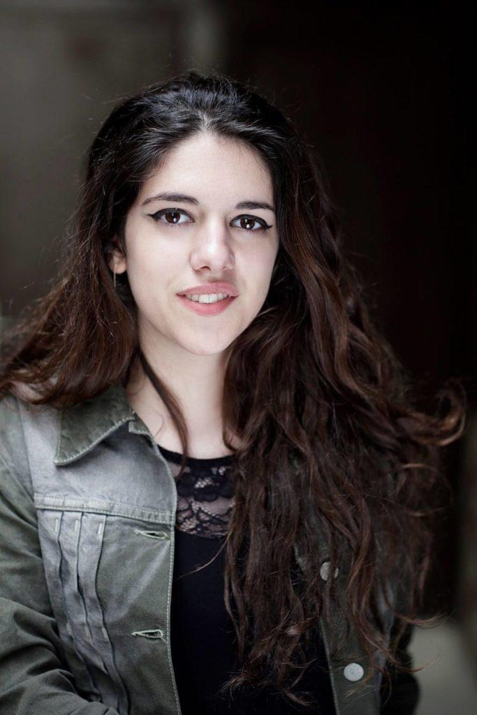 portrait de la comédienne Gabrielle Mouhanna