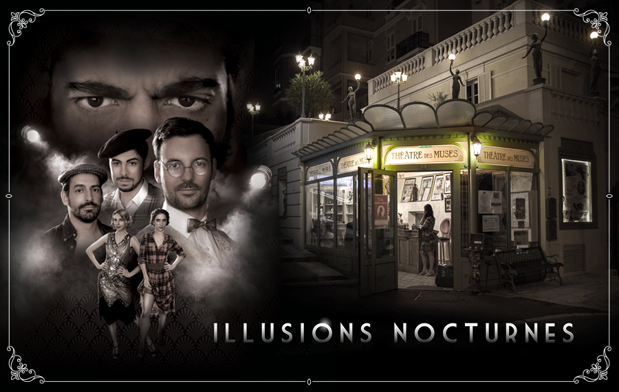 Illusions nocturnes part à Monaco !