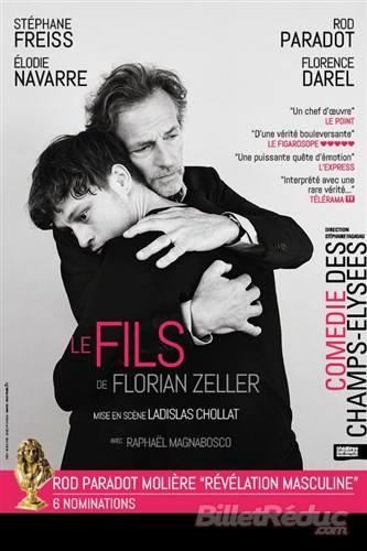 Florian Zeller, le fils à la Comédie des Champs Elysées