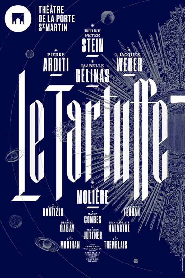 Tartuffe de Molière au théâtre de la Porte Saint Martin