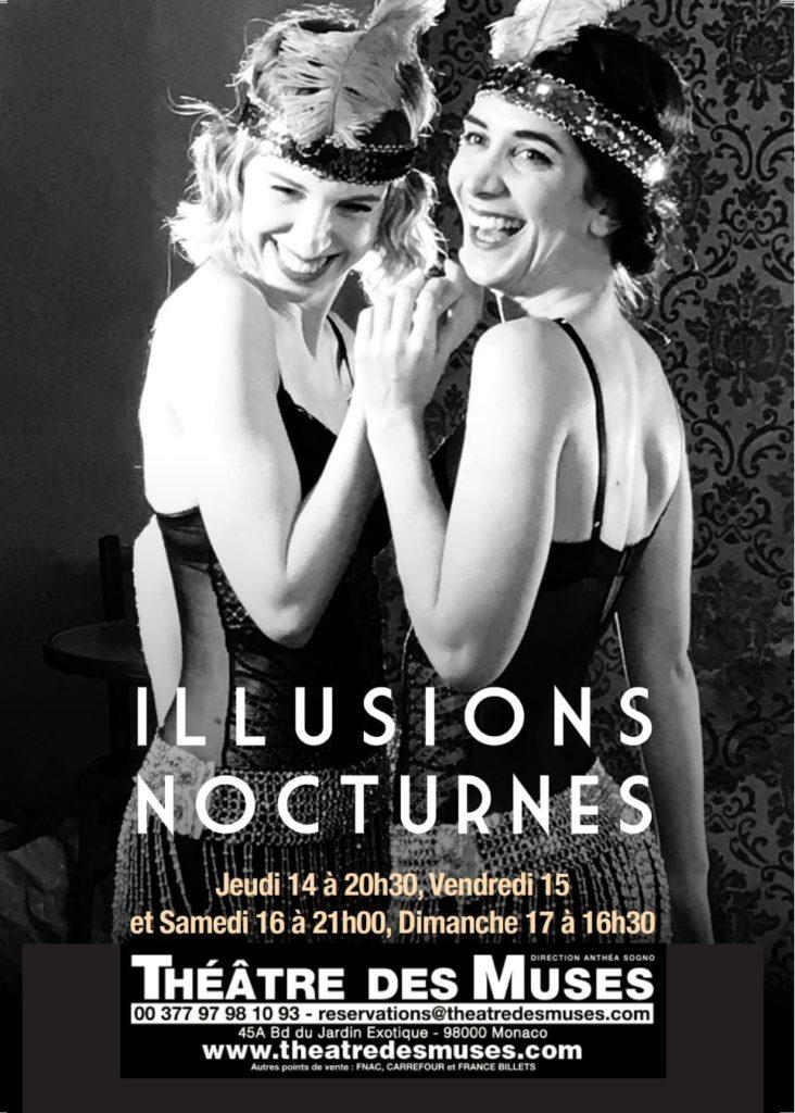 Illusions nocturnes au Théâtre des Muses atelier juliette moltes