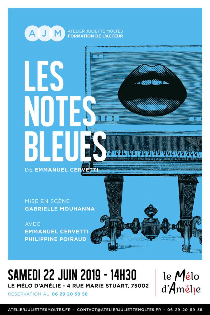 Les notes bleues spectacle de l'Atelier juliette Moltes