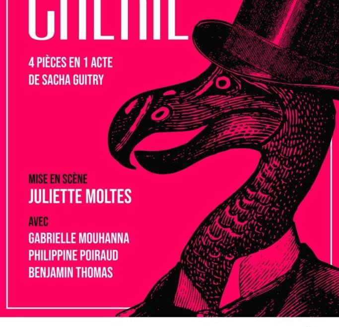 Chérie, 4 pièces en 1 acte de Sacha Guitry
