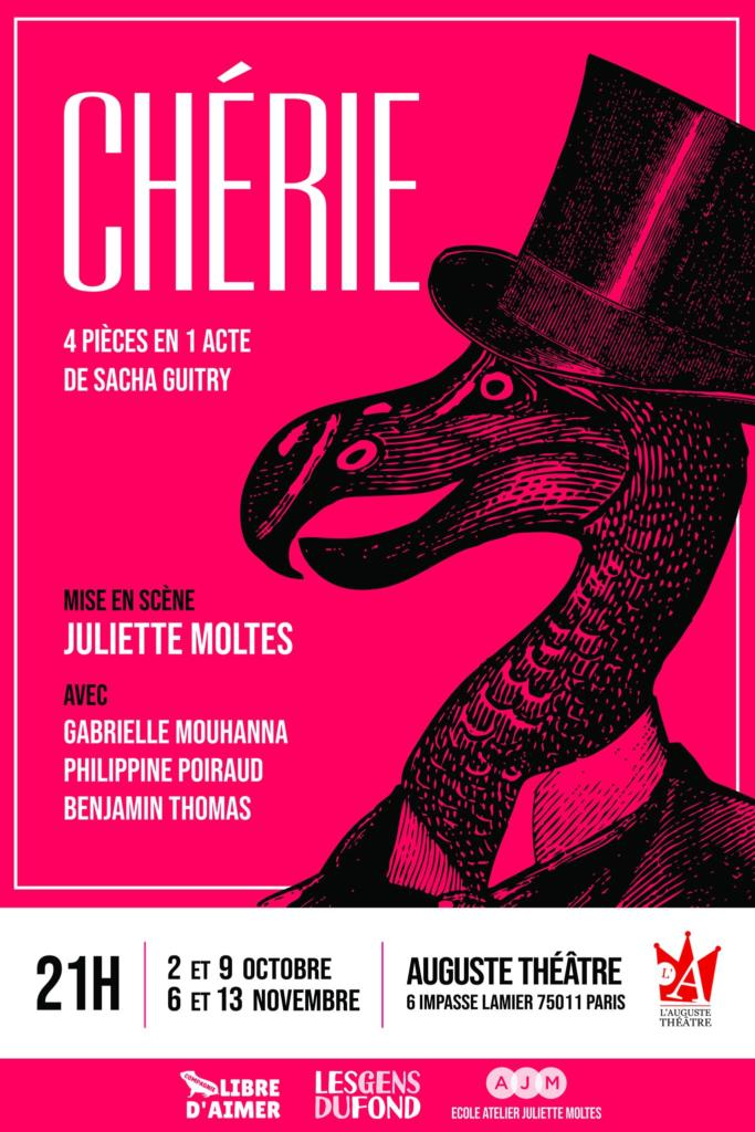 Chérie sacha guitry auguste theatre
