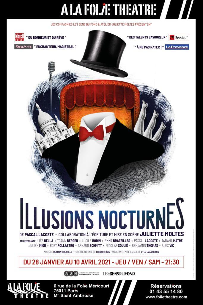 illusions nocturnes folie theatre atelier juliette moltes
