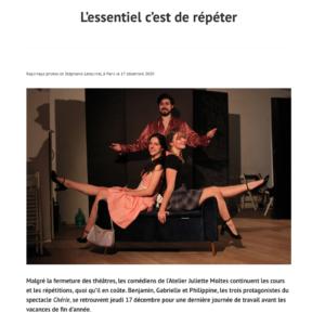 article presse atelier juliette moltes covid 19