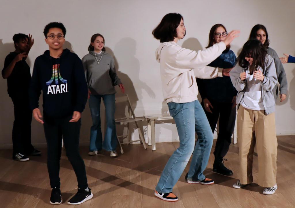 cours theatre ados