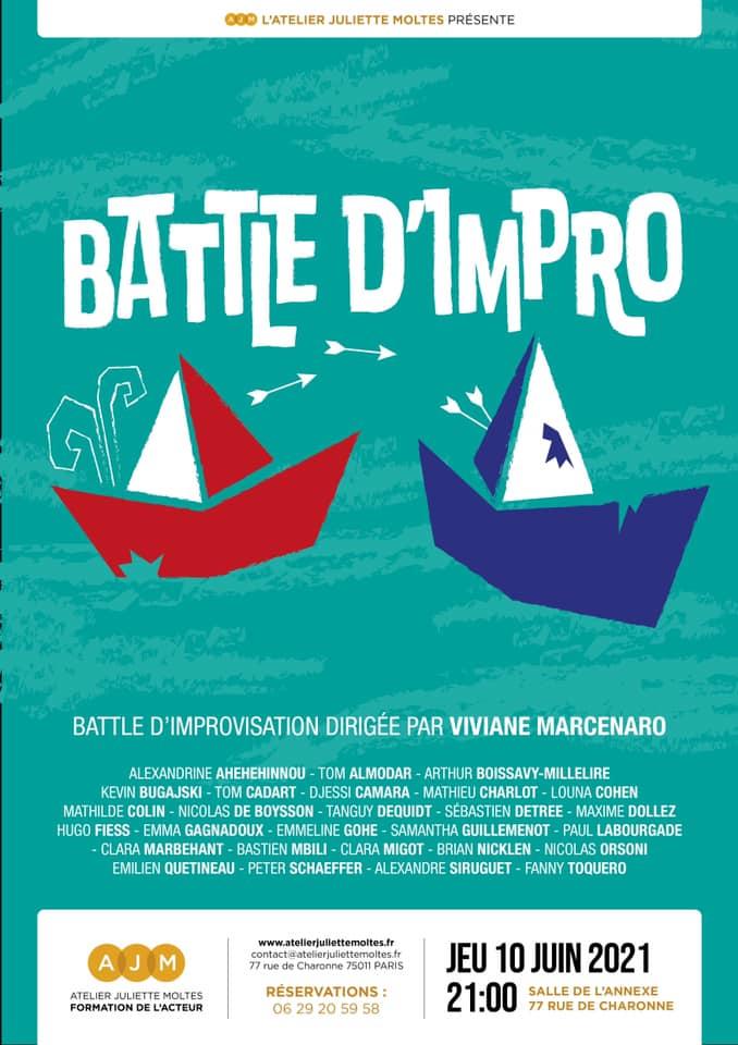 battle improvisation atelier juliette moltes