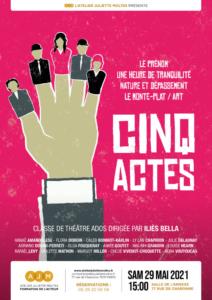 atelier juliette moltes ados theatre paris 11